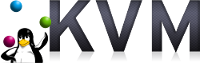 KVM virtualization logo